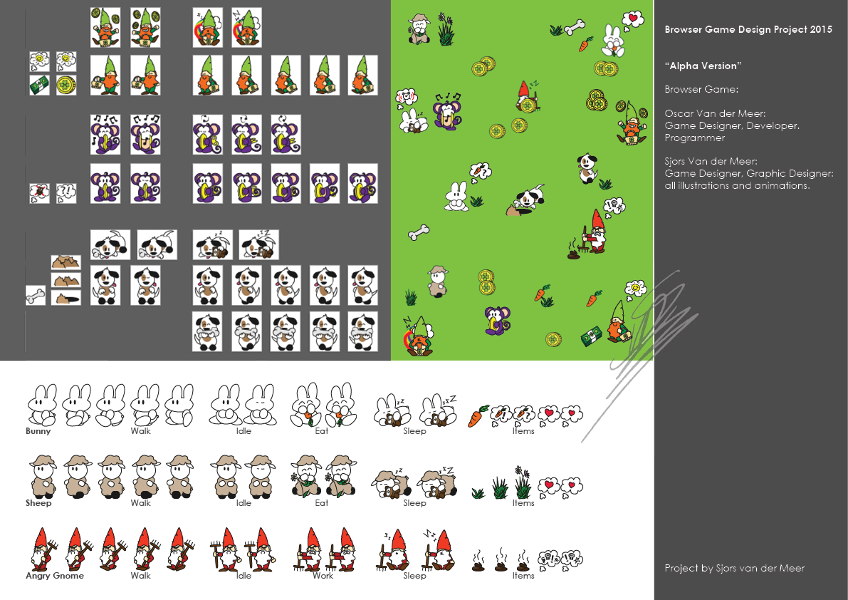 Portfolio Browser Game