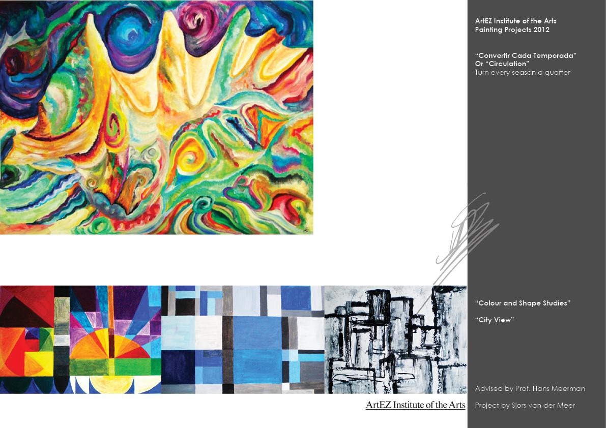 Portfolio Circulation Painting
