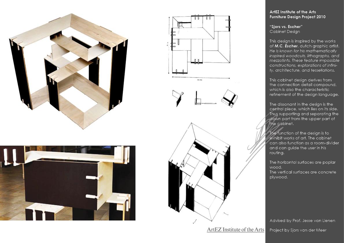 Portfolio Sjors vs. Escher